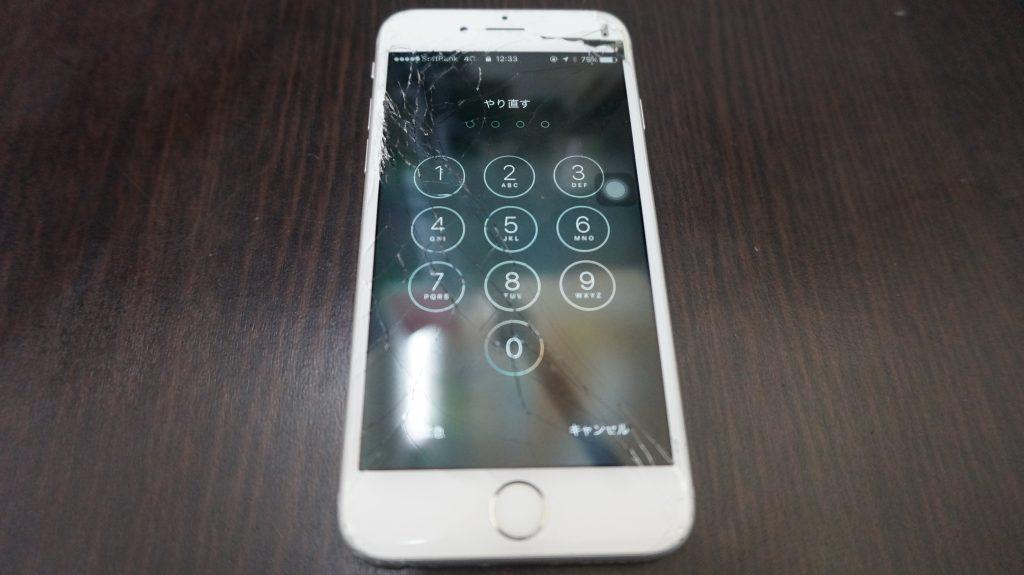 液晶交換 iPhone6s 1