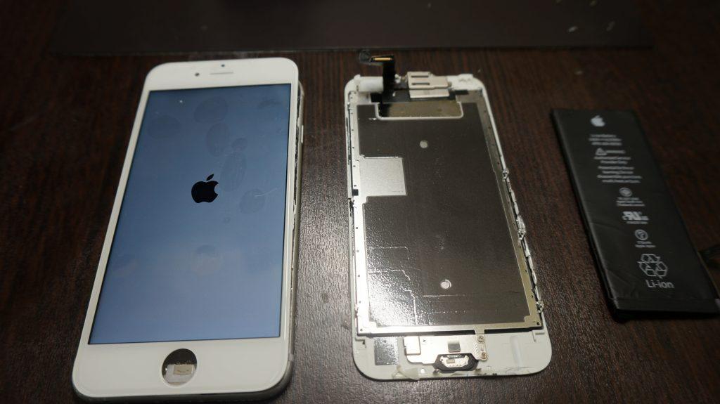 液晶交換 iPhone6s 3