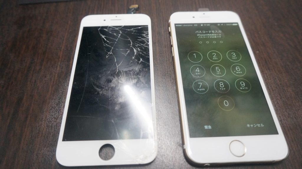 液晶修理 iPhone6 6