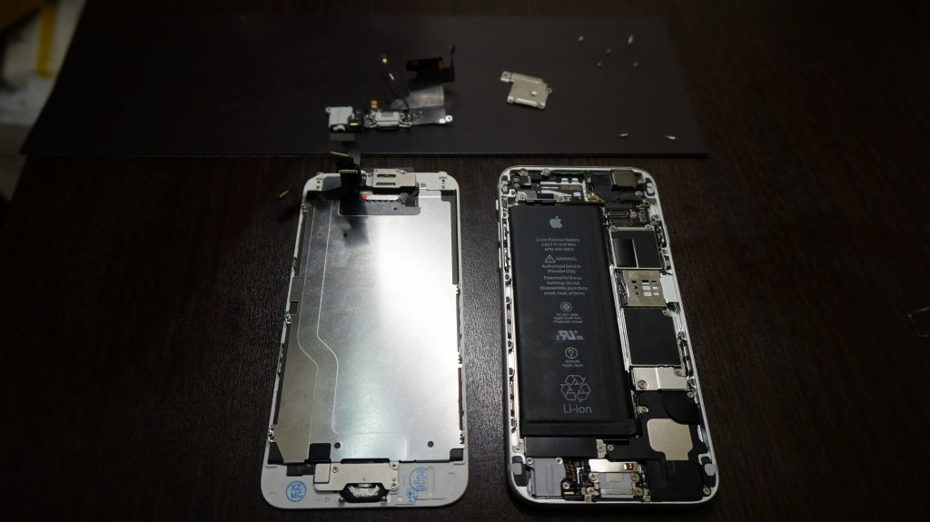 ドックコネクタ交換 液晶交換 iPhone6 5