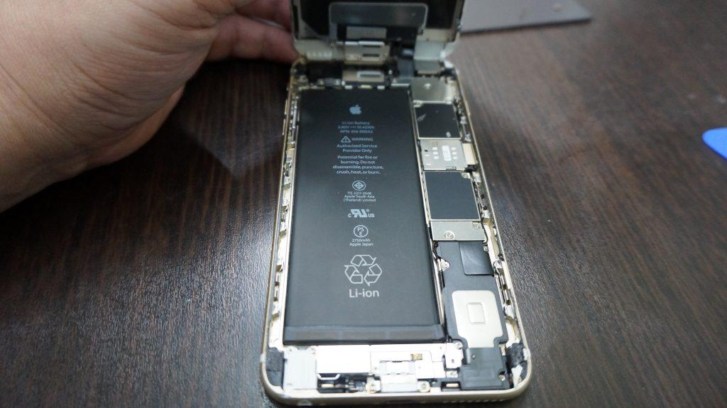 液晶割れ格安 iPhone6s 2