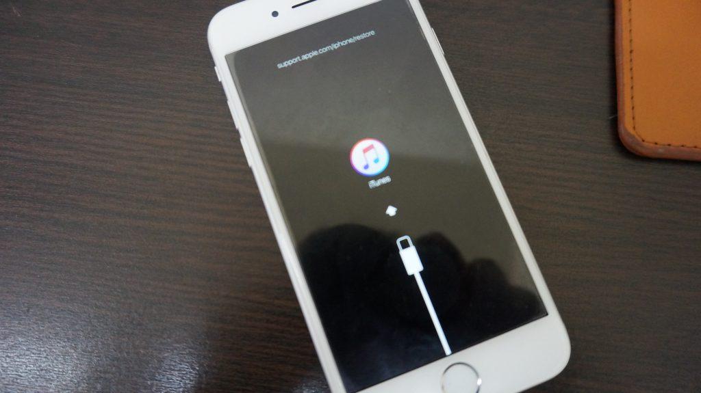 リカバリーモード復元 iPhone6 1
