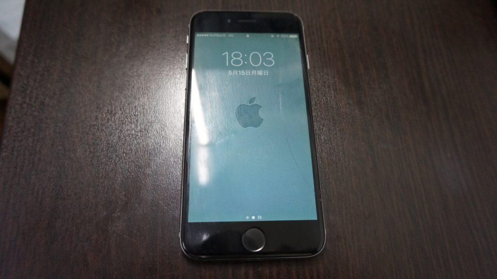 液晶交換 バッテリー交換 iPhone6 1