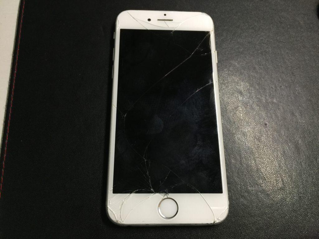 液晶ガラス交換 iPhone6 1