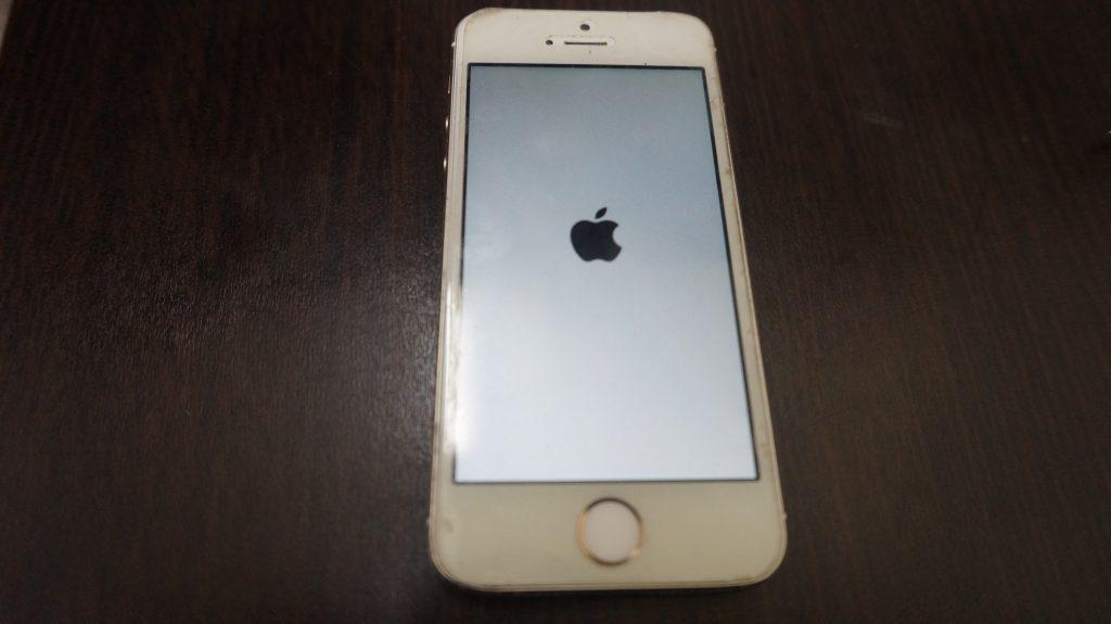 バッテリーを安く交換 iPhone5s 3