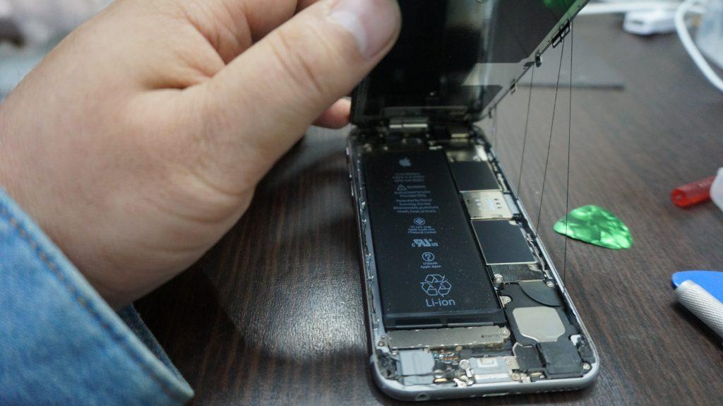 安い液晶交換 iPhone6s 3
