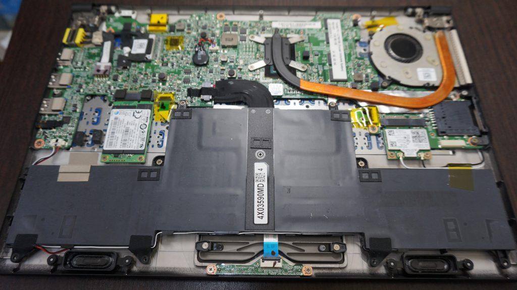 液晶交換バッテリー交換 LZ750TSB 3