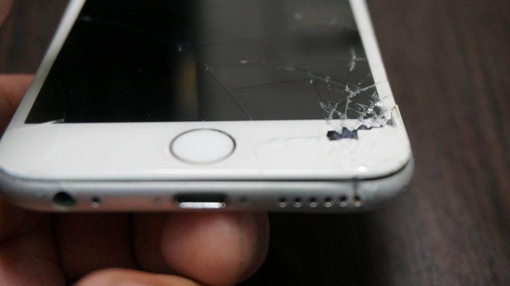 液晶割れ/フレーム修正 iPhone6 3