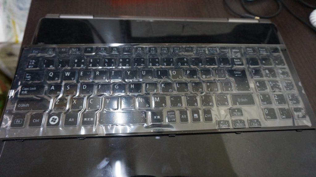 キーボード交換 LL750 2