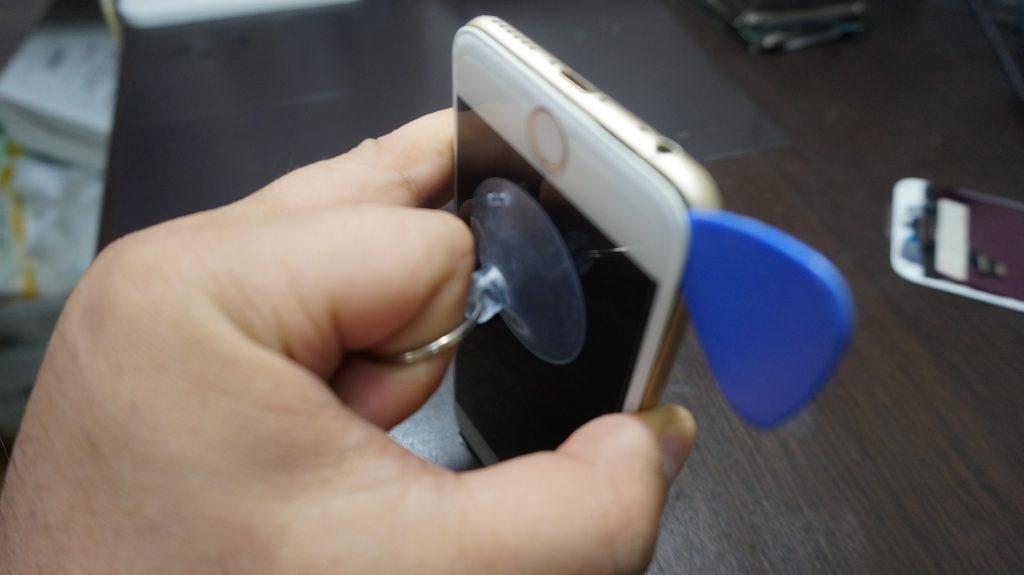 液晶ガラス割れ交換 iPhone6 2