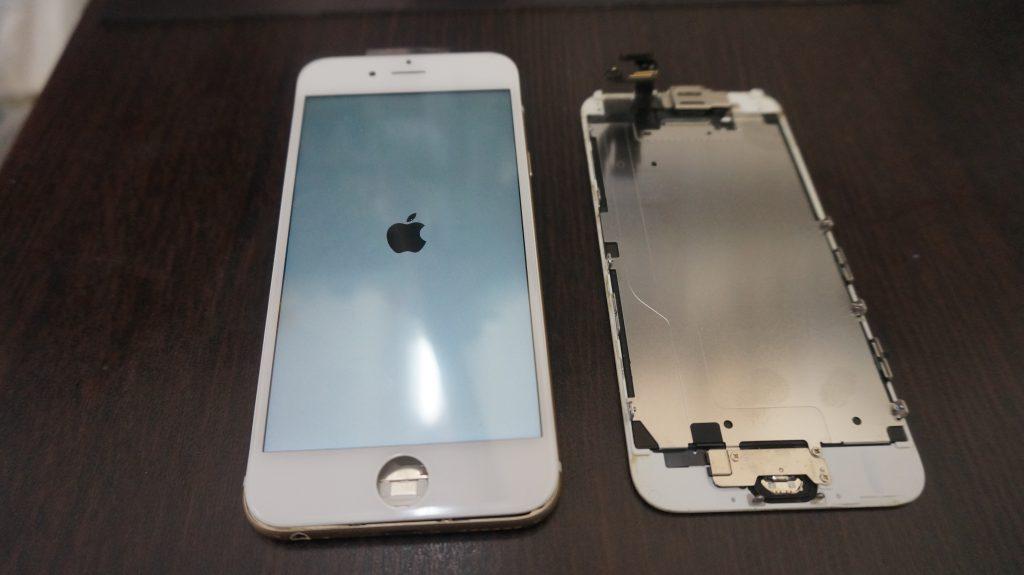 液晶ガラス割れ交換 iPhone6 6