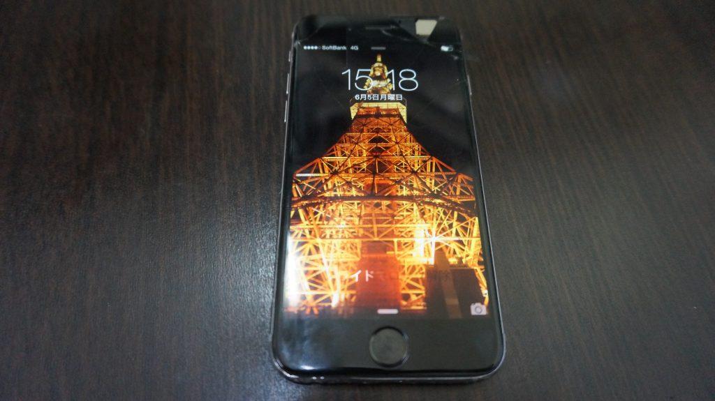液晶ガラス iPhone6 1