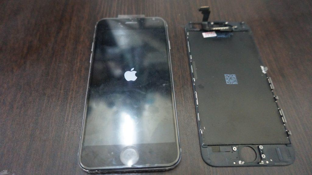 液晶ガラス iPhone6 5