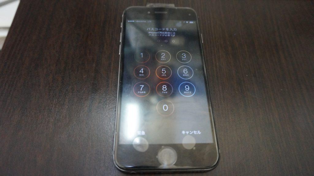 液晶パネル浮き iPhone6  5