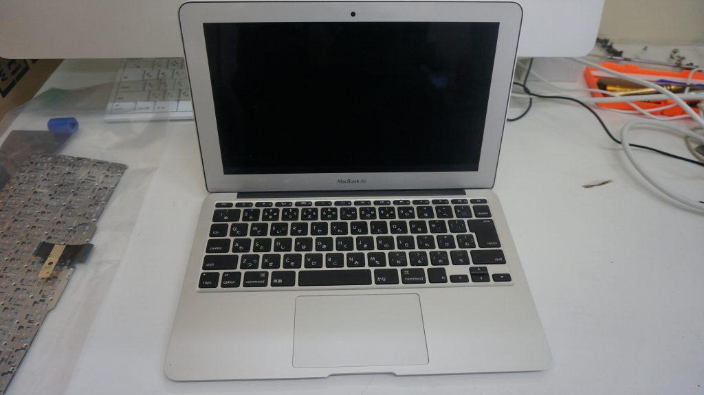 キーボード交換 Macbook Air A1465 2015 1