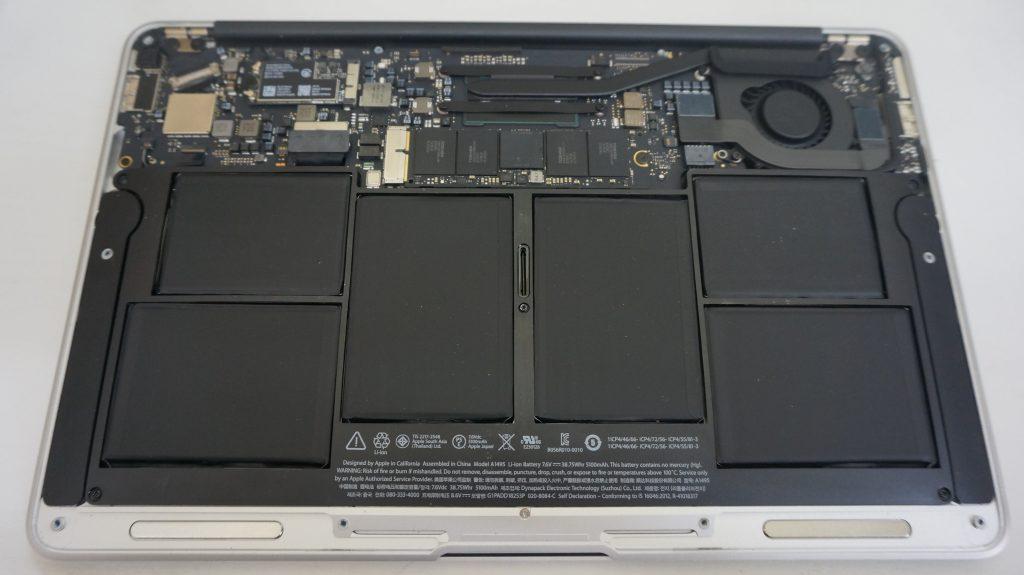 キーボード交換 Macbook Air A1465 2015 2