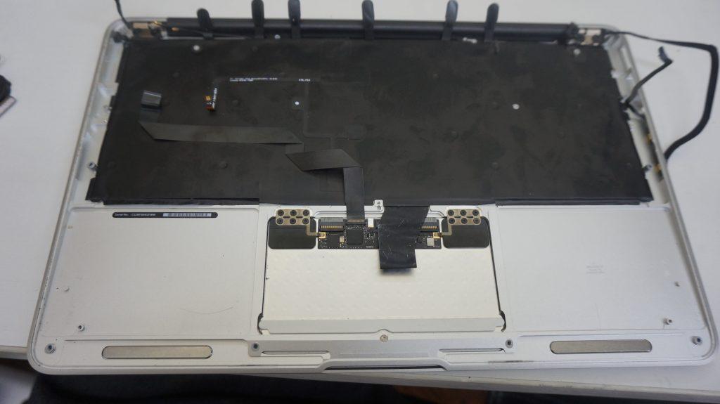 キーボード交換 Macbook Air A1465 2015 9