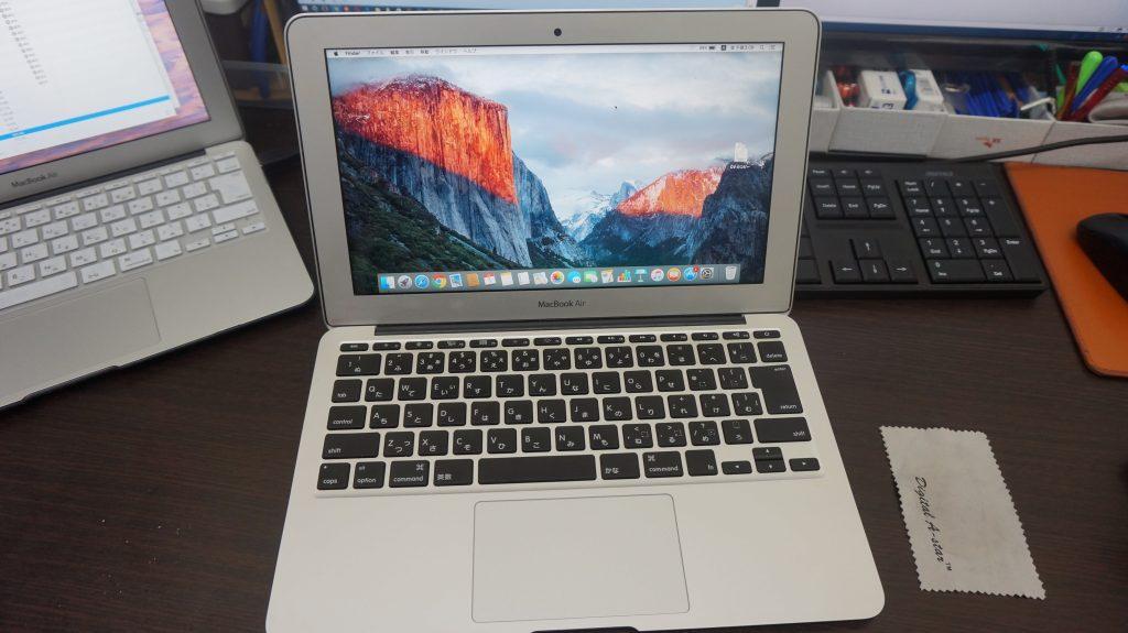 キーボード交換 Macbook Air A1465 2015 10