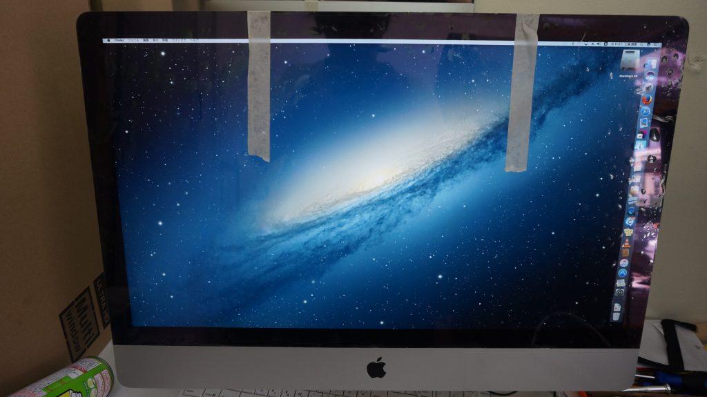 iMac 27 液晶パネル交換 A1419 2012 2K 7