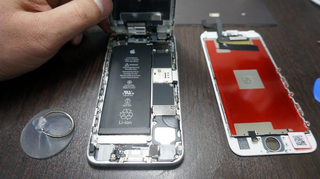 液晶交換 液晶割れ 安い iPhone6 2