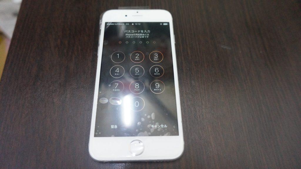 液晶交換 液晶割れ 安い iPhone6 4