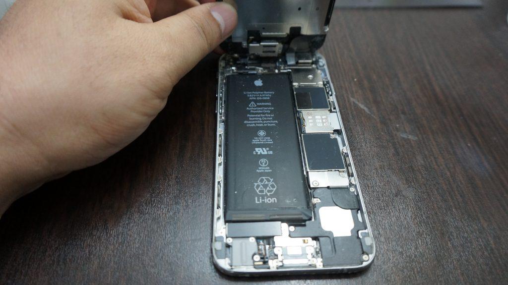 激安で液晶交換 iPhone6 2