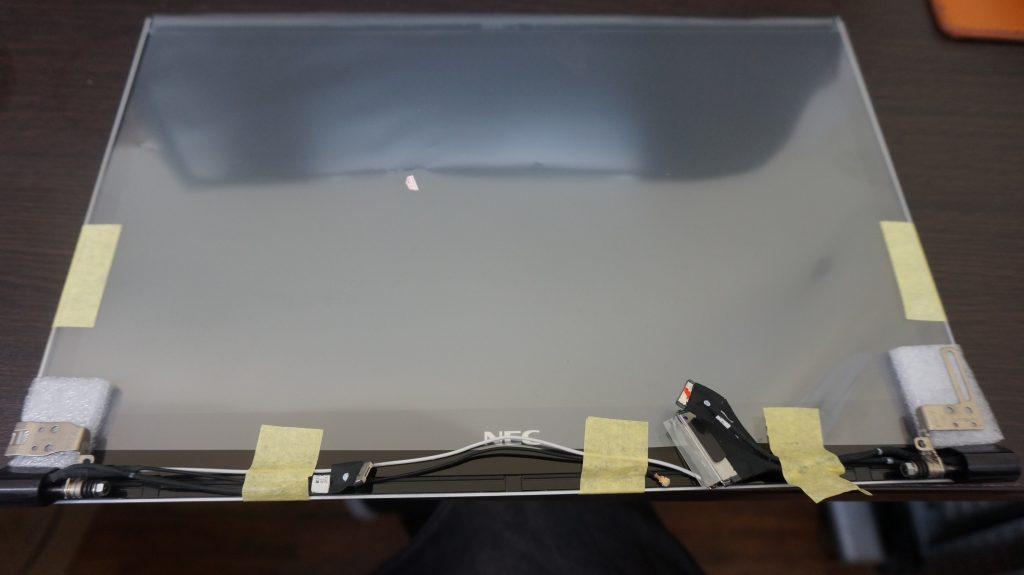 液晶割れ交換 LZ650/SSS 5