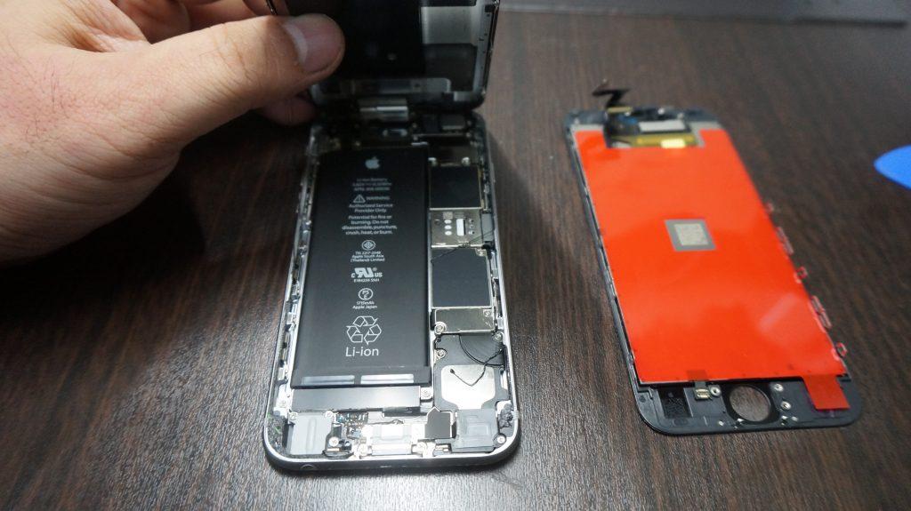 ガラス割れ交換 iPhone6s 激安 2
