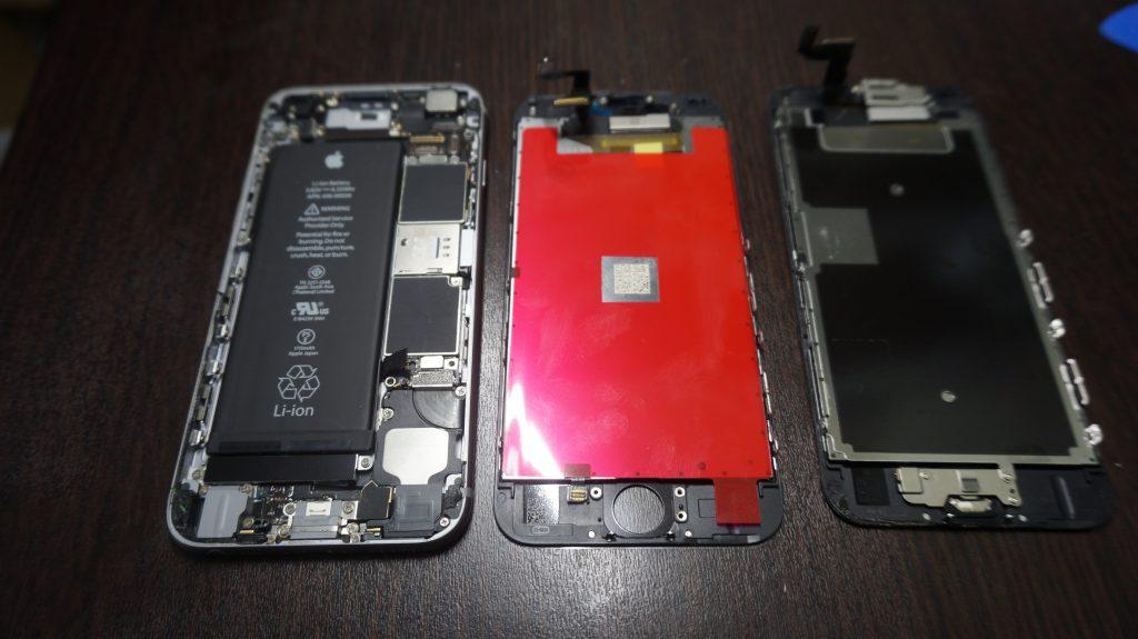 ガラス割れ交換 iPhone6s 激安 3