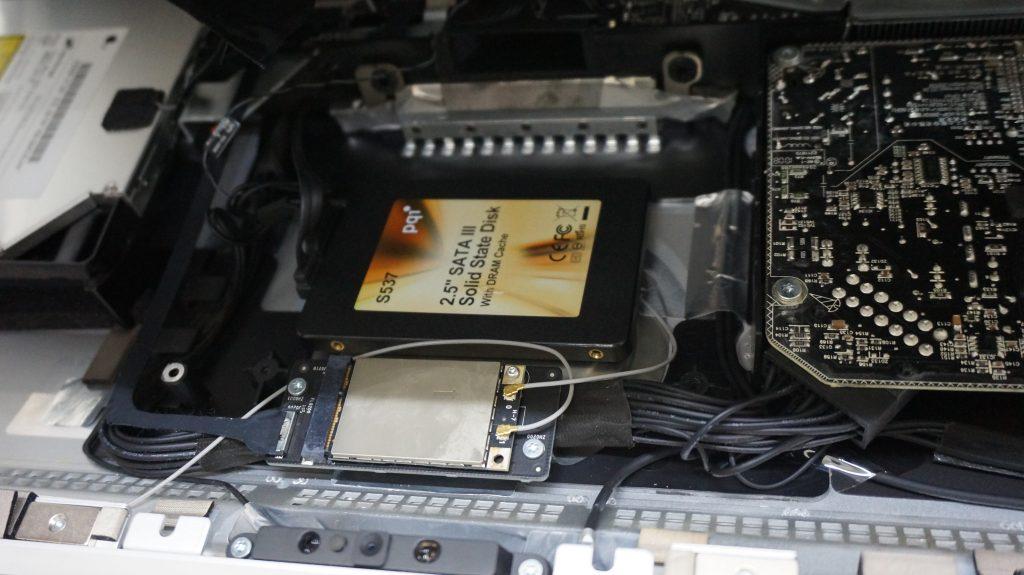 HDD異常 起動しない SSD換装 iMac A1224 4