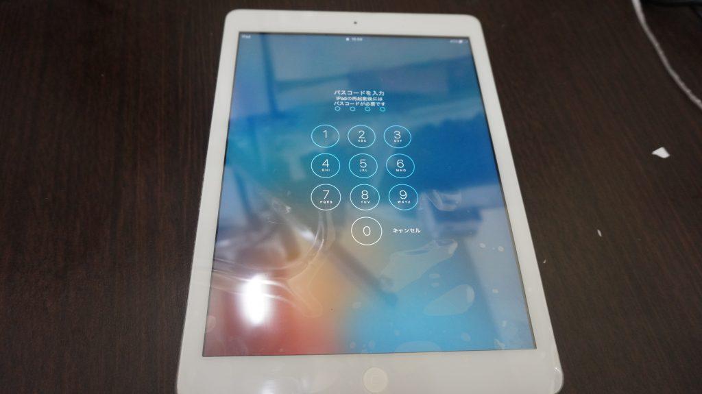 デジタイザ交換(ガラス交換) iPad Air 7