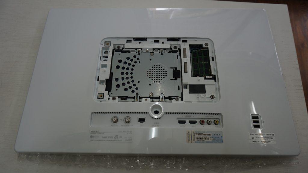 VAIO L PCG-21513N HDD異常によりSSDに換装 2