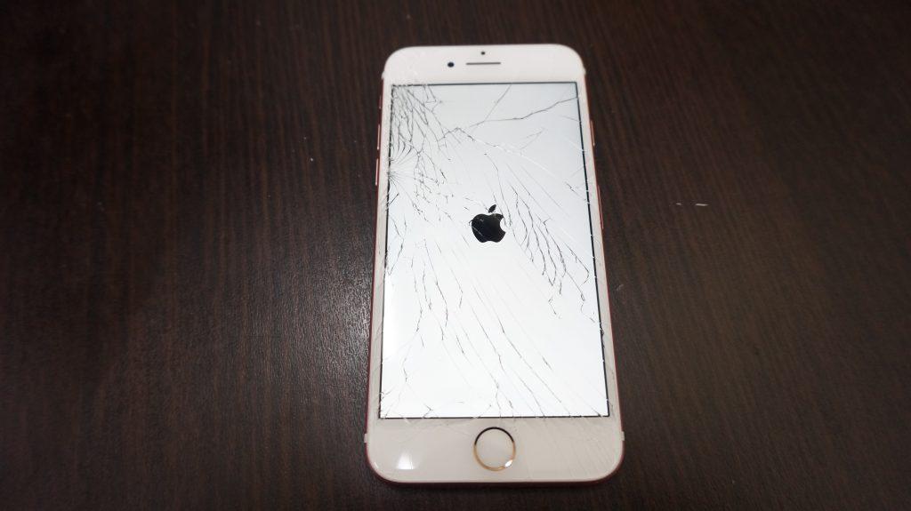 液晶割れ交換 iPhone7 1