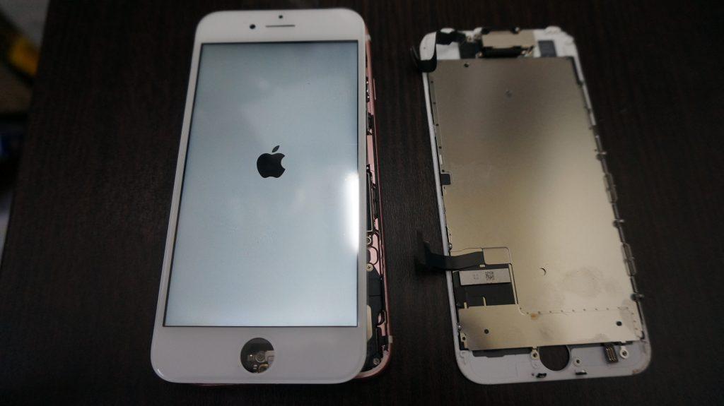 液晶割れ交換 iPhone7 4