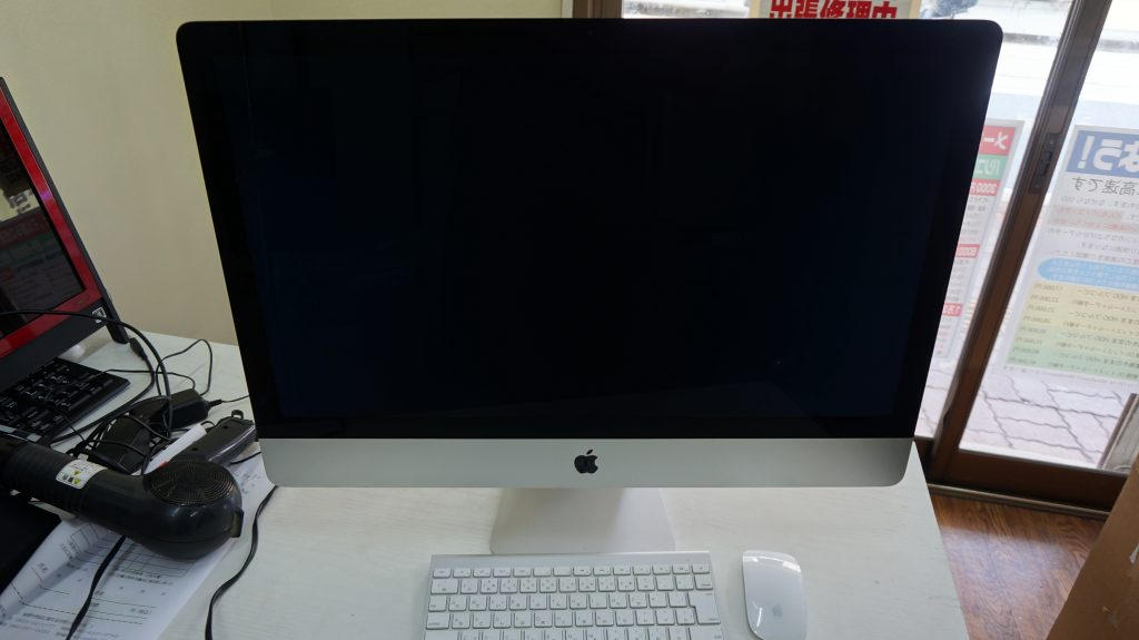 iMac 27 A1419 2012 SSD換装 1