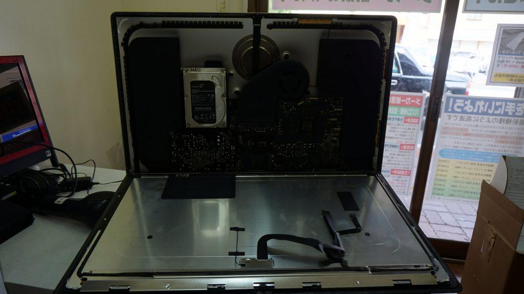 iMac 27 A1419 2012 SSD換装 3