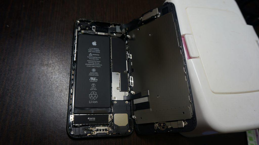画面割れ交換 iPhone7 2