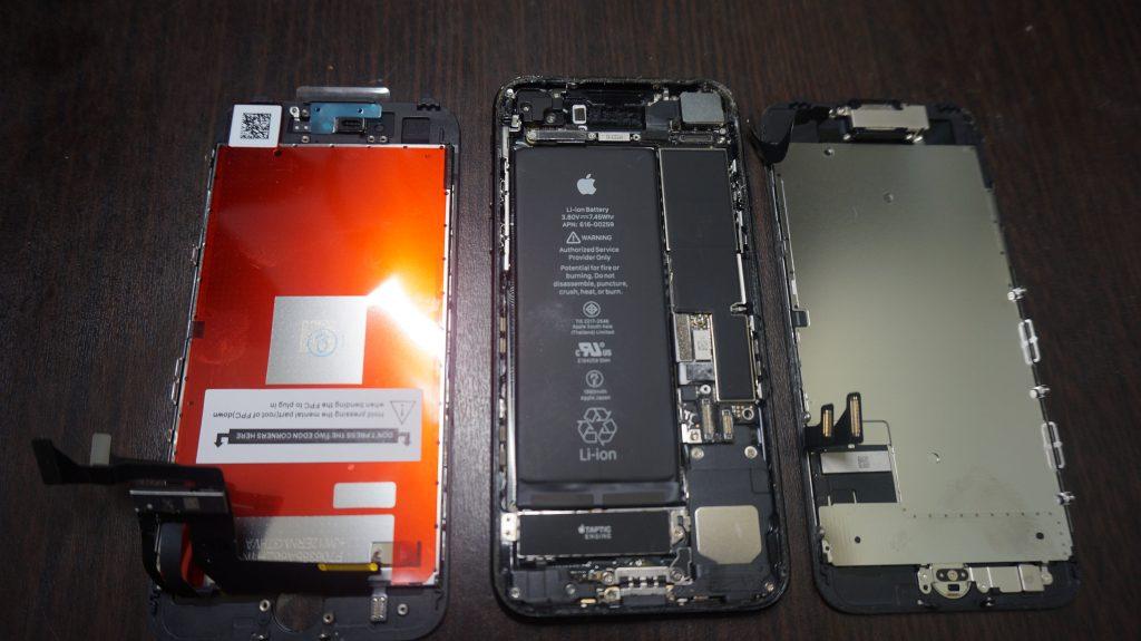 画面割れ交換 iPhone7 3
