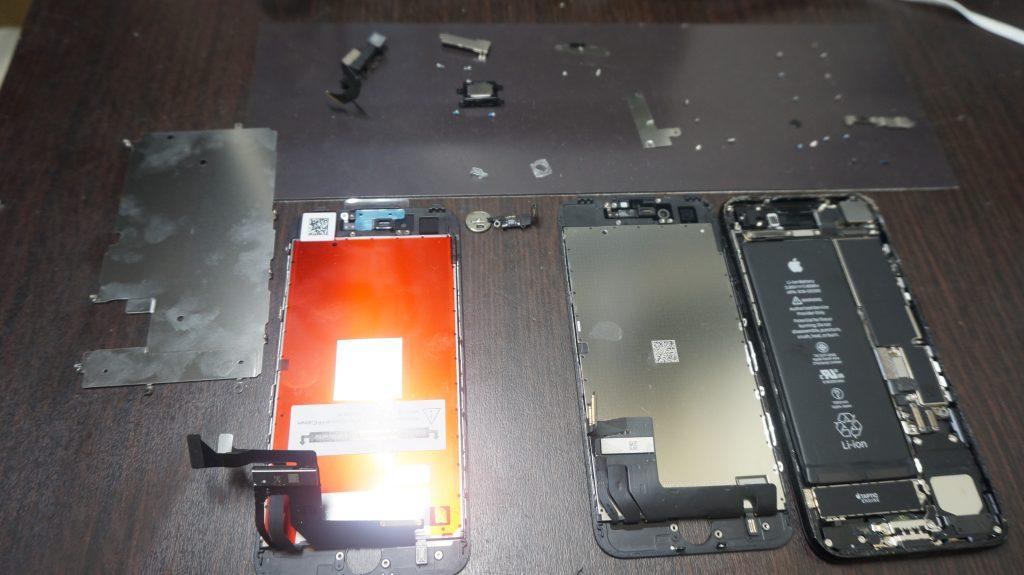 画面割れ交換 iPhone7 5
