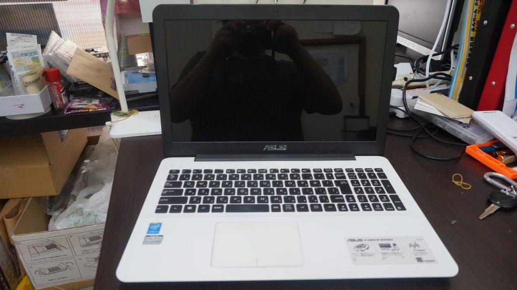 キーボード交換 ASUS X555L 1