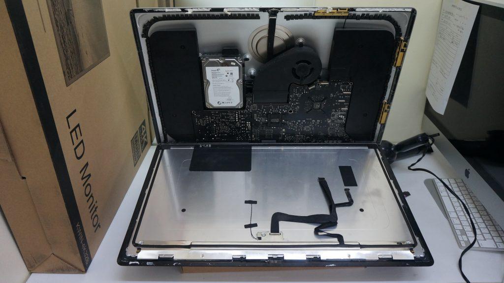 セクタ不良 HDD交換 iMac A1419 2013 4
