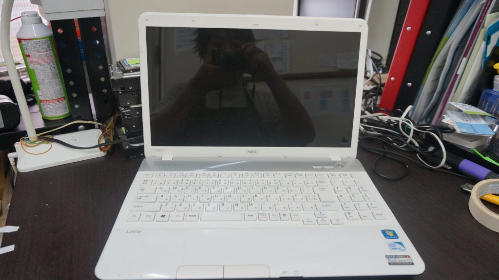 キーボードが一部打てない キーボード交換 NEC LS150/F 1