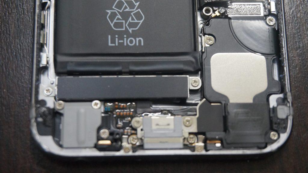 液晶割れバリバリ iPhone6s 3