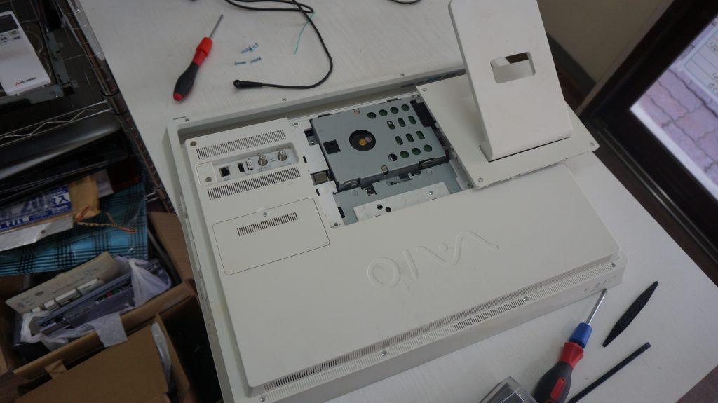 SONY VAIO VPCJ2 動作が遅い SSD換装 5