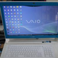 SONY VAIO VPCJ2 動作が遅い SSD換装 8