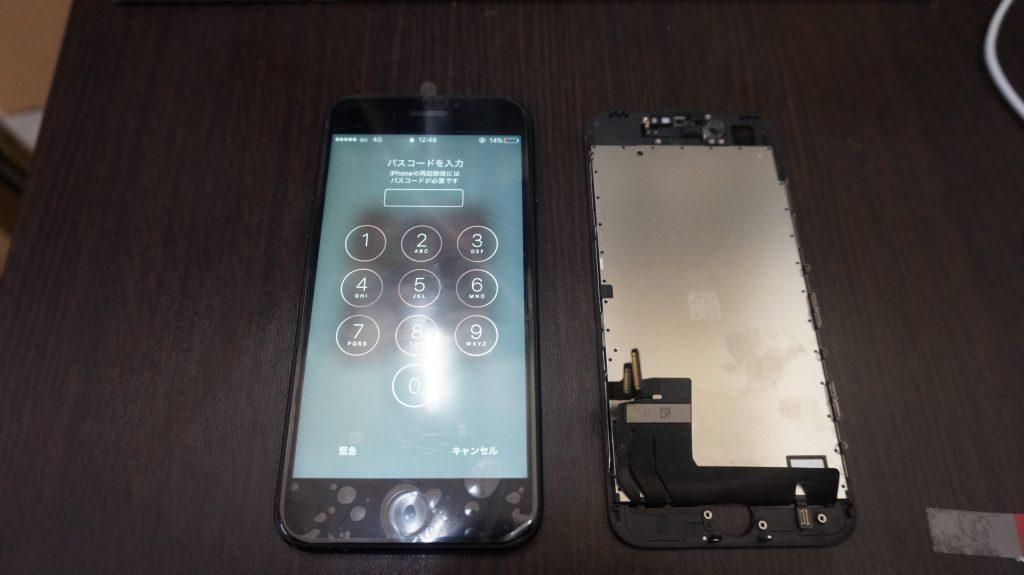 液晶交換が安い iPhone7 6