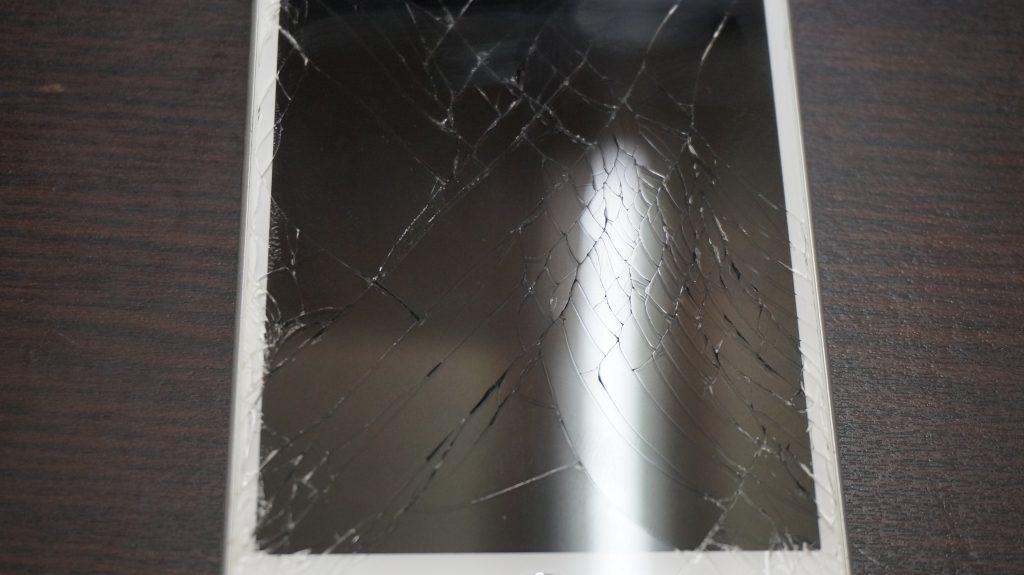 画面バリバリ交換 iPhone6s Plus 2