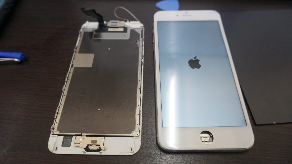 画面バリバリ交換 iPhone6s Plus 3