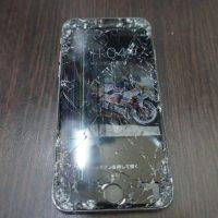 液晶割れ画面割れ iPhone6s 1