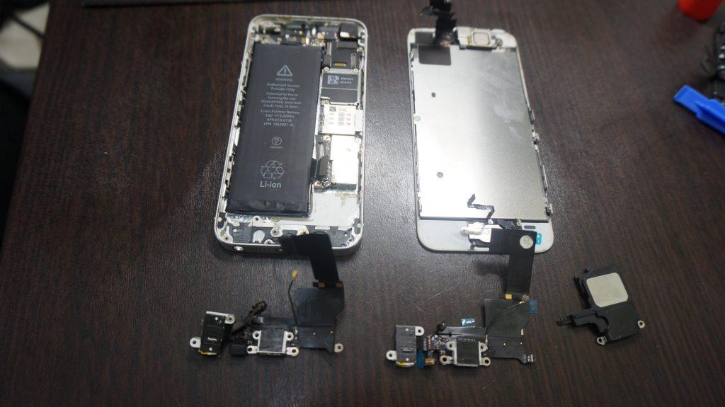 充電できない ドックコネクタ交換 iPhone5s 2